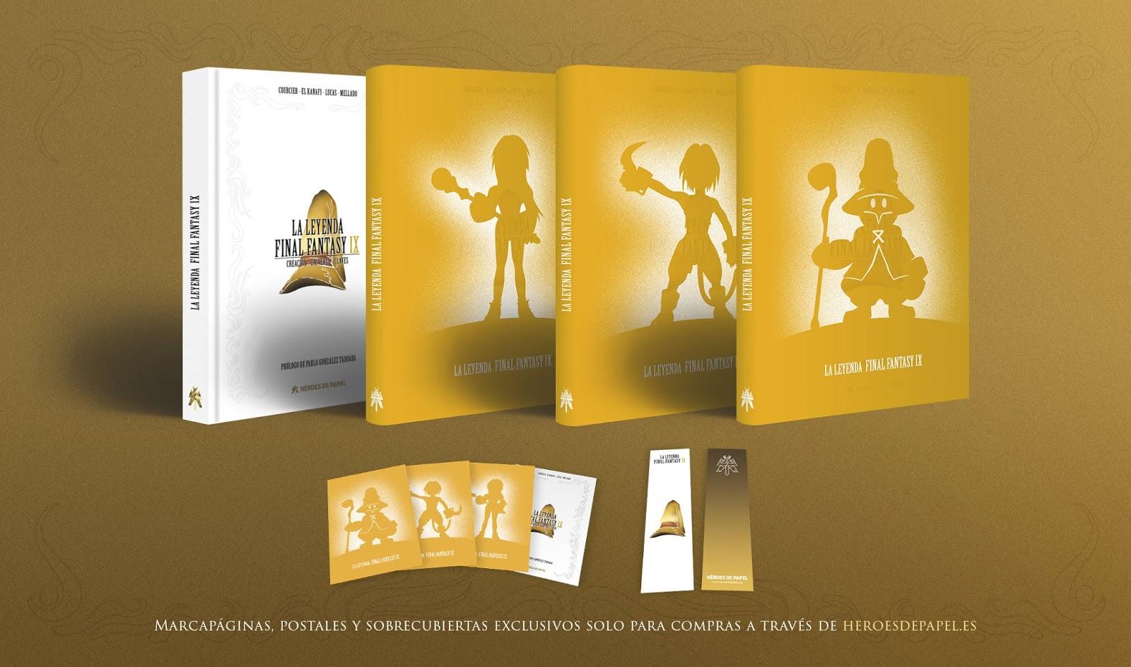 Se anuncia el libro La Leyenda Final Fantasy IX