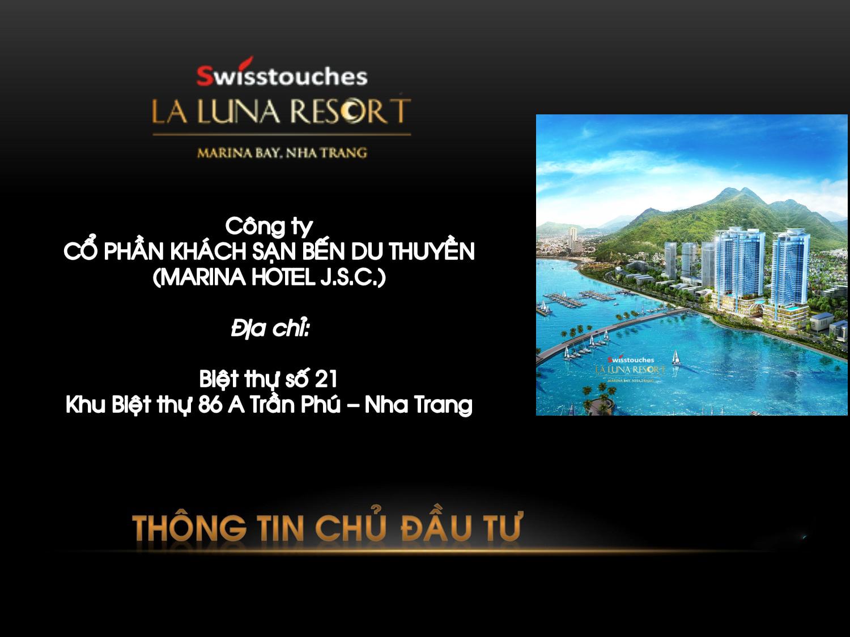 Chủ đầu tư La Luna Resort Nha Trang