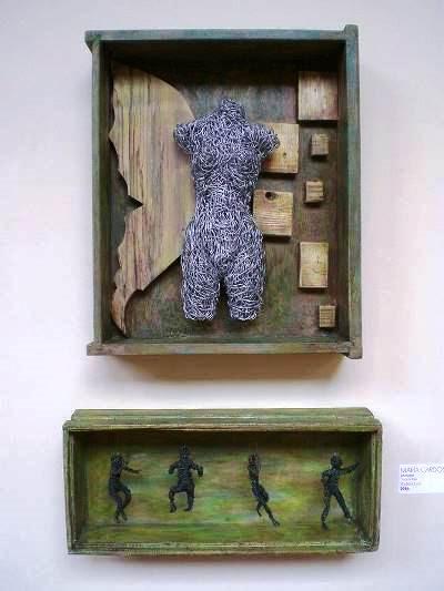 Escultura,  Pintura, Collage, Arte, Valencia, Venezuela