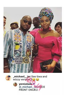 Yemi Alade Slams A Hater Over Her Picture With Davido (PHOTO)