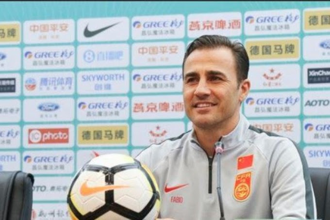 Cannavaro's short spell in charge of China could be over