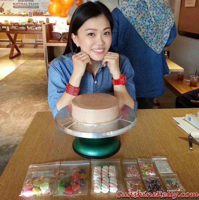 cake sense, cake deco diy, cake sense TTDI, cake design, cake diy, design your own cake, do it yourself cake