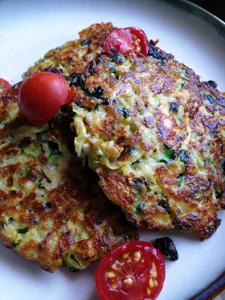 A Healthy Makeover Zucchini Cakes