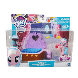 MLP Aloe Boutique Spa Friendship is Magic Collection Set