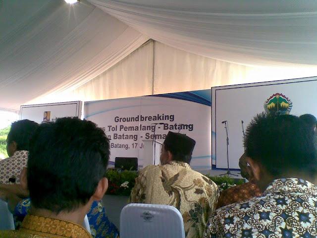 Presiden Jokowi Ke Batang