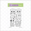 FBS Purr-ific Kitty Cat 4x6 Clear Stamp Set