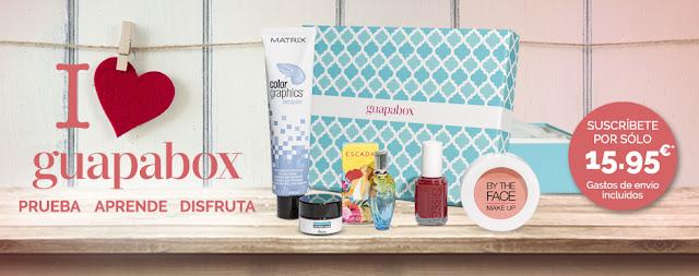 Contenido caja de belleza Guapabox de febrero: Quiérete mucho!