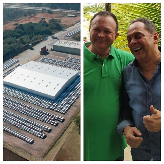 DESTAQUE - Paulo Marinho elogia empenho de Carlos Brandão para efetivação do Porto Seco em Caxias