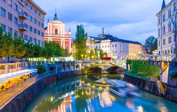 Ljubljana, Slovania