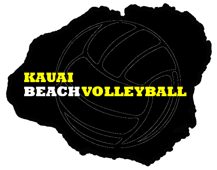 Here S The Kauai Beach Volleyball Logo That I Came Up With