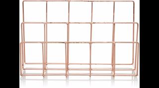 Copper Letter Rack