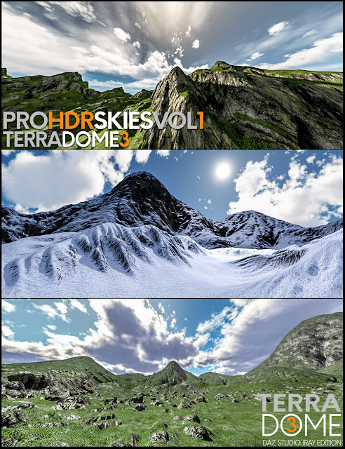 PRO-HDR-SKIES Vol_1 for TerraDome 3
