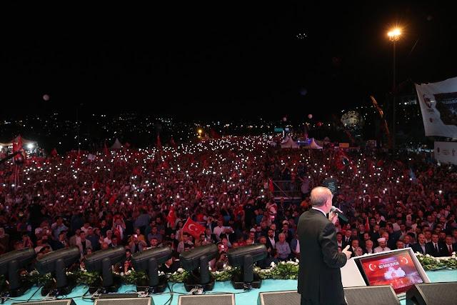 Erdogan: Tak Ada Kekuatan di Dunia yang Mampu Jegal Turki
