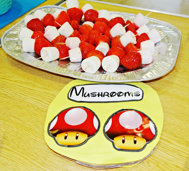 Mario Land Mushrooms