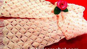 Estola Delicada Tejida a Crochet / Tutorial