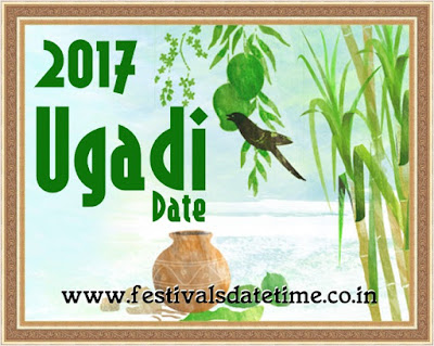 2017 Ugadi, Telugu & Kannada New Year Date in India
