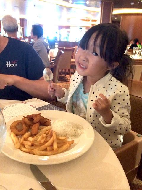 princess cruises kids meal