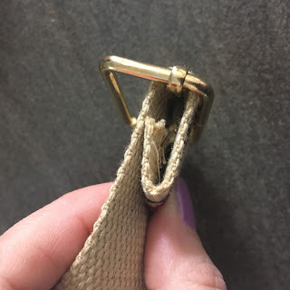 How to attach hardware to webbing