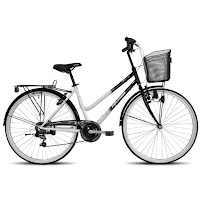 City Bike Polygon Sierra Hi-Ten Steel 7 Speed 26 Inci