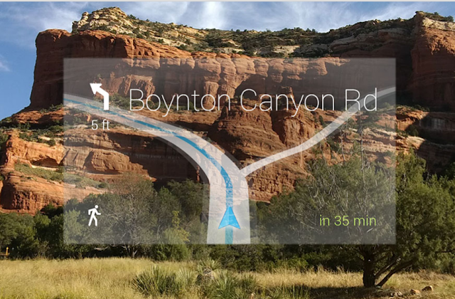 Google Glass - Some Amazing Features Maps
