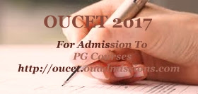 OU PGCET 2017 : Exam date, Notification, Eligibility, Online application form, Important dates,  How to Apply-Application Form, Fee, exam dates