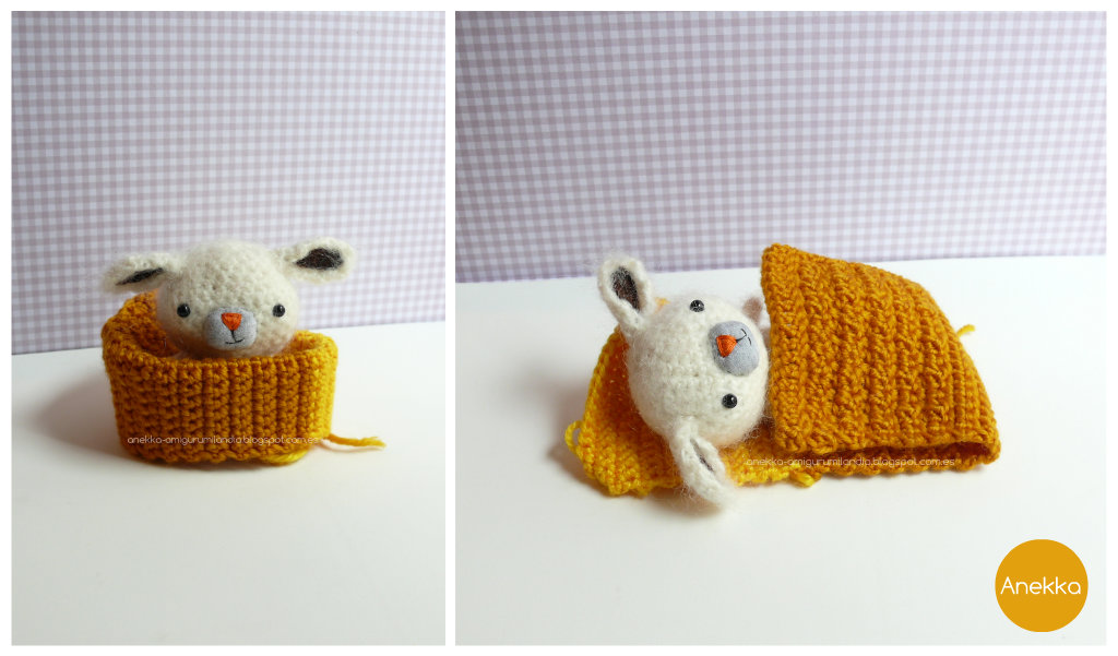 little amigurumi mohair dog