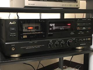 A&Dの3ヘッドカセットデッキGX-Z7100