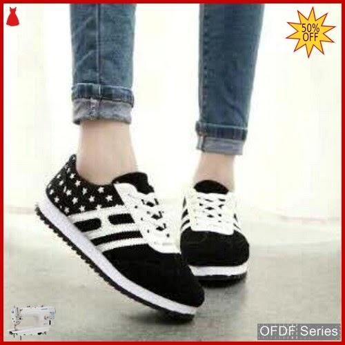 OFDF260 Sepatu Sneakers Cantik Opeck Warna Hitam BMGShop