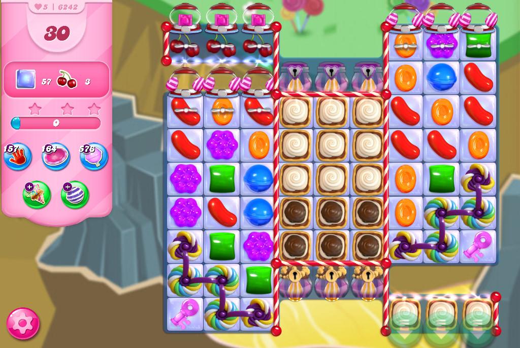 Candy Crush Saga level 6242