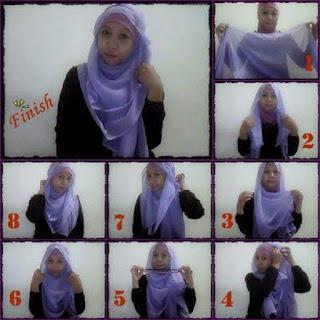 model jilbab pasmina kaos