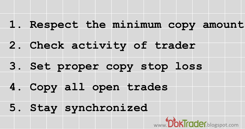 DokTrader's blog: 5 rules for successful CopyTrading on eToro