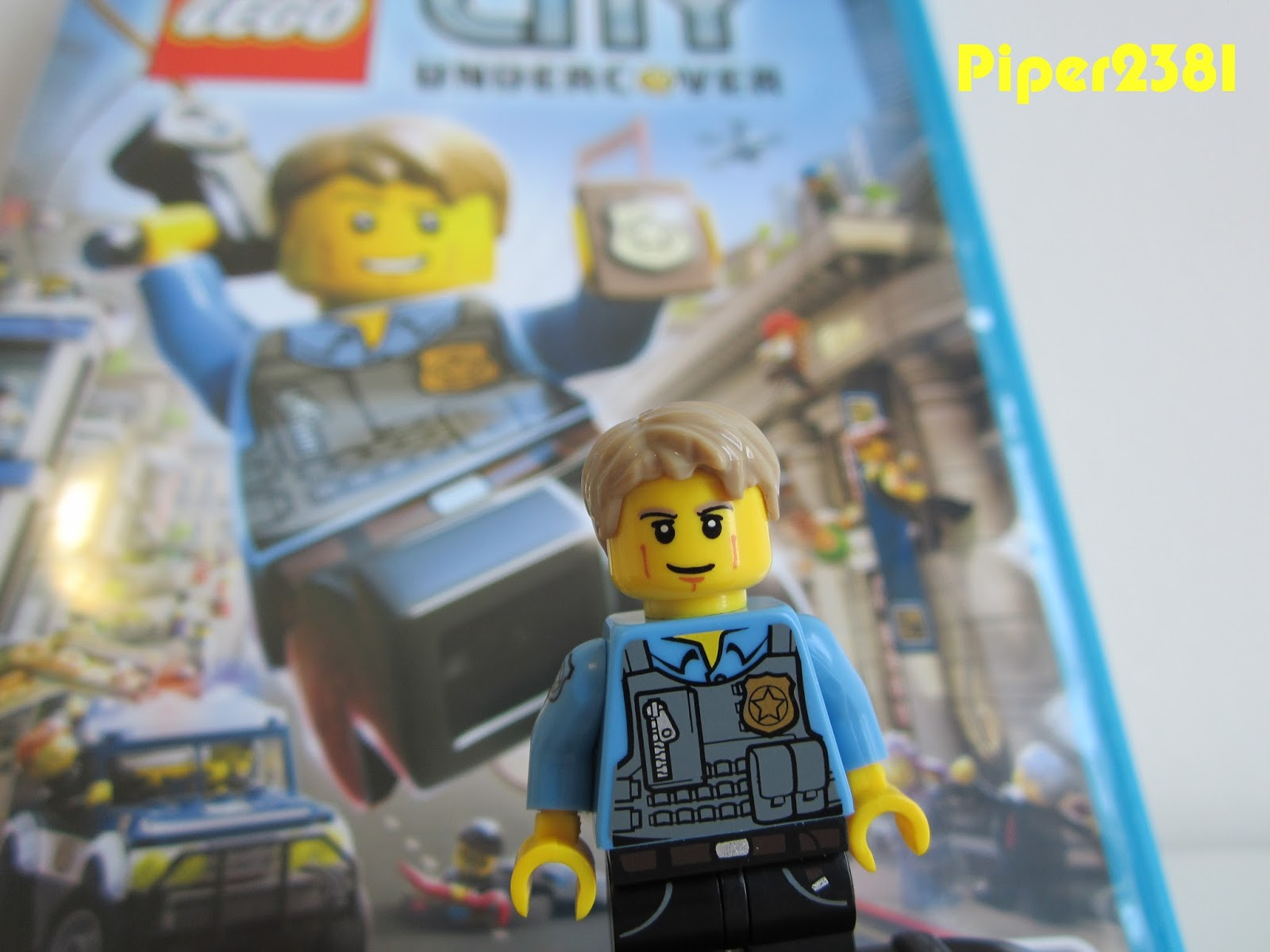 Piper2381: Lego City Undercover Wii U Chase McCain Minifigure