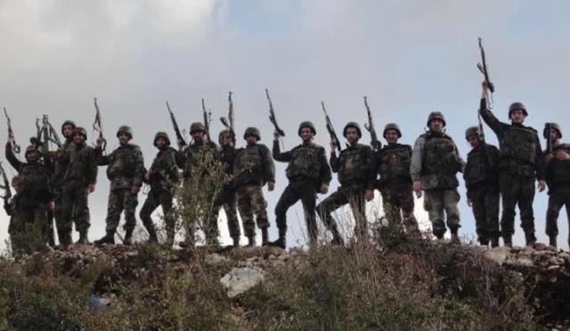 الجيش السوري يستعيد بلدة النعيمة  في ريف درعا الشرقي .