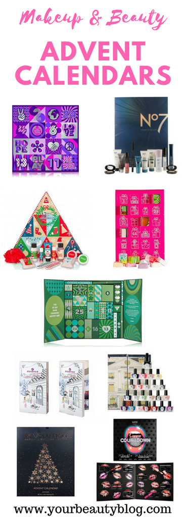 makeup and beauty advent calendars for women