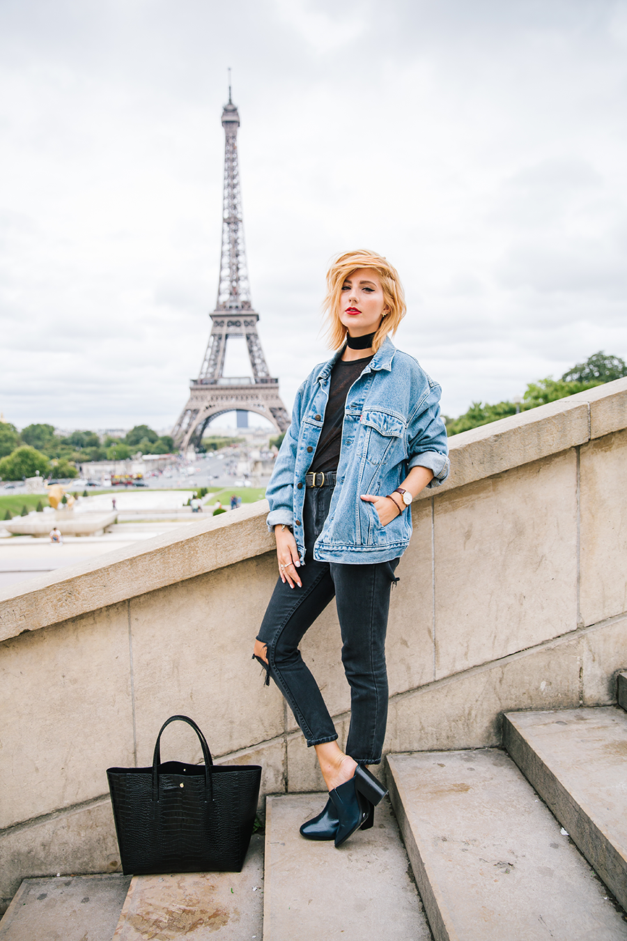 STYLE BLOGGER: How to wear a vintage levi's denim jacket