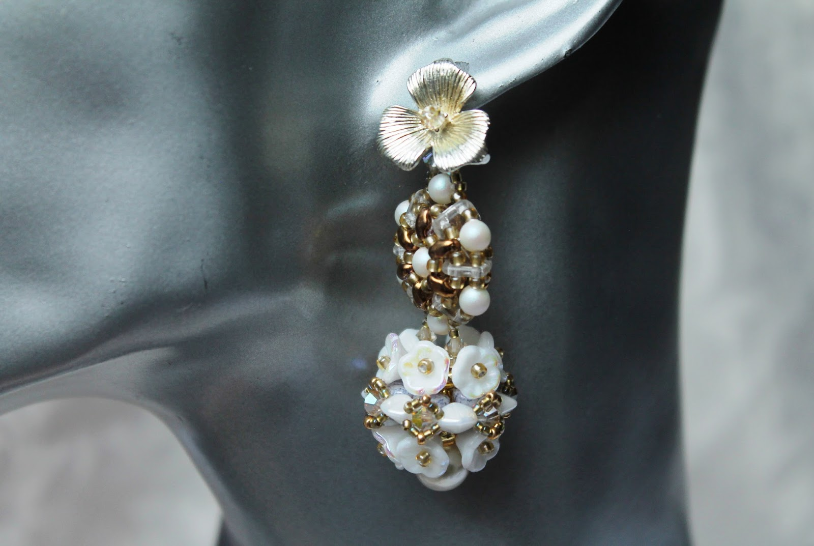 ohrstecker perlen