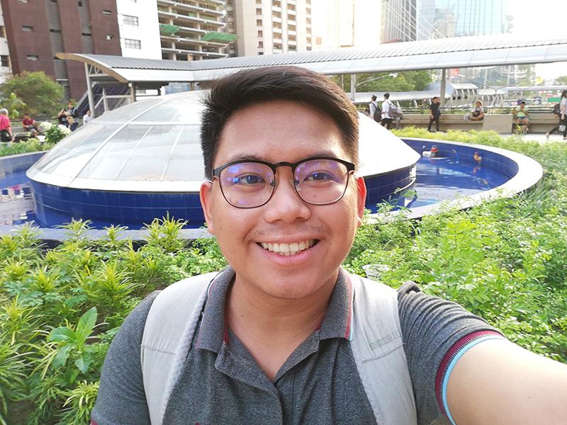 P20 lite daylight selfie