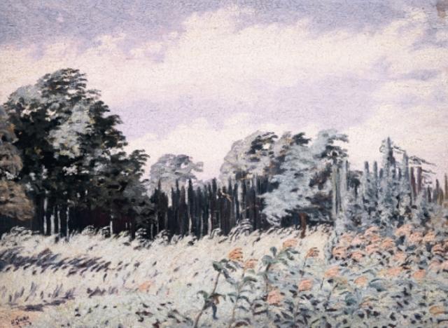 Dario Suro. Landscape. 1939