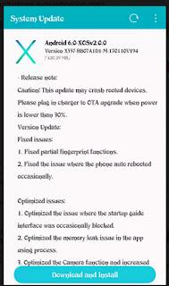 Infinix hot 4 ota software update