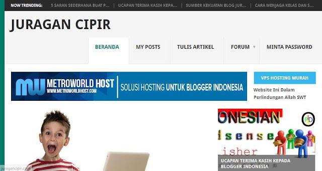 Blog Juragancipir.com - Blog Bloging Bisnis Online Internet Marketing Terbaik Di Indonesia