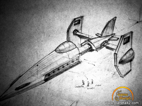 super cool star fighter