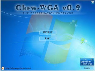 Chew WGA Windows 7, Windows 8