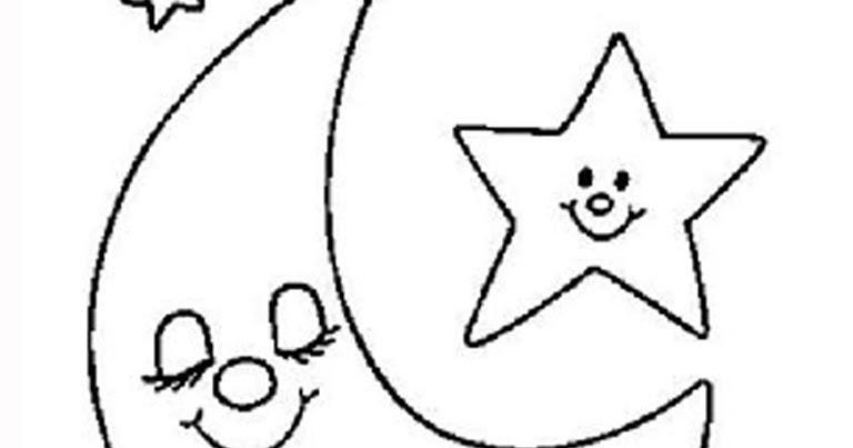 Gambar Bintang Untuk Diwarnai Gambar Efg