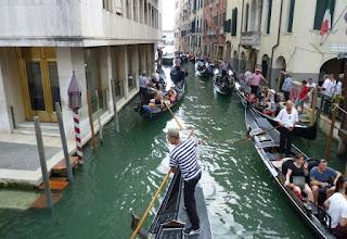 Góndolas en Venecia.