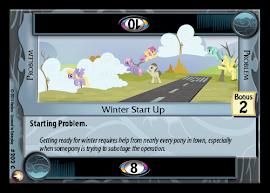 My Little Pony Winter Start Up Equestrian Odysseys CCG Card