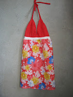 "<img src=""dress.gif"" alt="" procedure in making summer dress out of recycled cloth"" />"