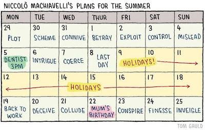 Meme de humor sobre Maquiavelo