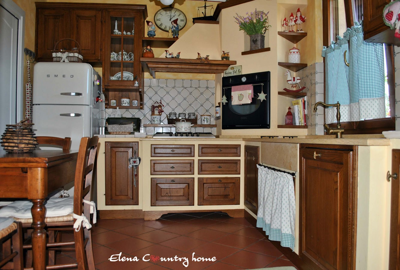 Cucina Country Angolare Elena Country Home La Mia Country Cucina
