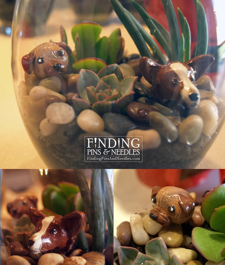 Finding Pins And Needles: Mini Clay Garden Figurines Part II
