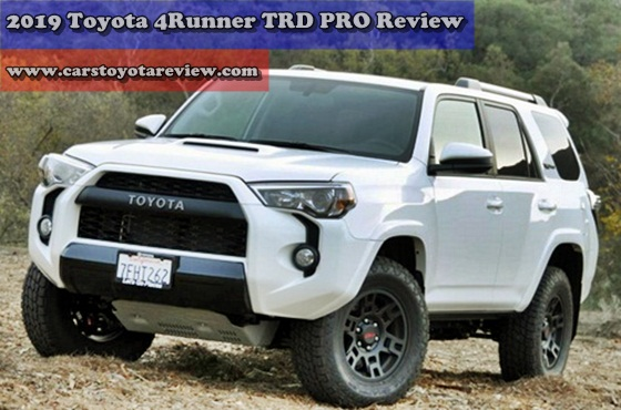 2019 Toyota 4Runner TRD PRO Review - Go To Lose Old V6 Engines